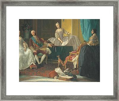Baldrighi Giuseppe, The Family Of Don Framed Print by Everett