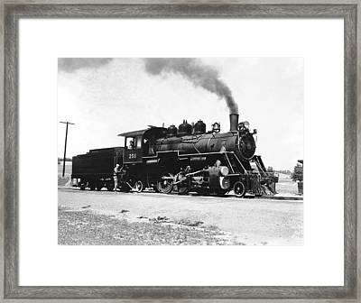 Baldwin Locomotive 250 Framed Print by Underwood Archives