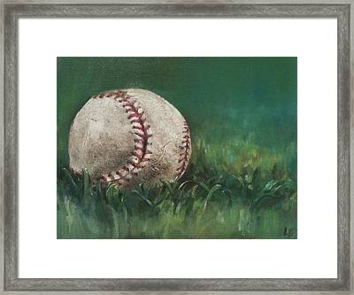 Ball Number One Framed Print by Lindsay Frost
