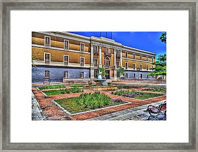 Ballaja Barracks Museum  Framed Print by Diosdado Molina