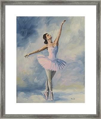 Ballerina 001 Framed Print by Torrie Smiley