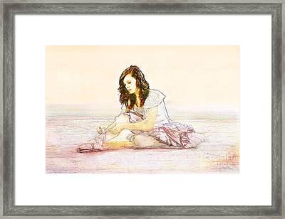Ballerina Framed Print by Cindy Singleton