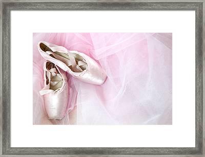 Ballerina Dreams Framed Print by Zina Zinchik