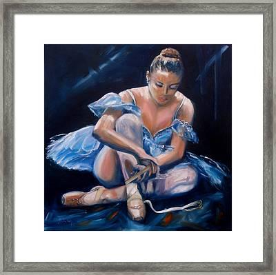 Ballerina II Framed Print by Donna Tuten