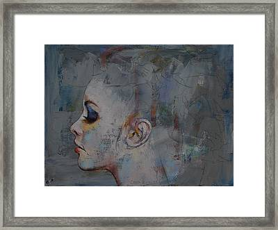 Ballerina Framed Print by Michael Creese