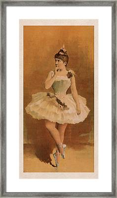 Ballet Framed Print by Aged Pixel