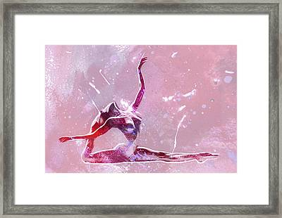 Ballet Art Framed Print by Stefan Kuhn