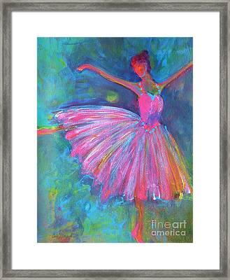Ballet Bliss Framed Print by Deb Magelssen
