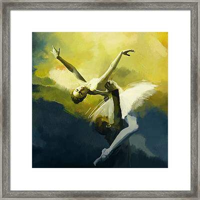 Ballet Dancer Framed Print by Corporate Art Task Force
