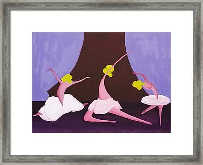 Ballet Framed Print by Esther Osborn