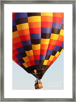 Balloon-color-7277 Framed Print by Gary Gingrich Galleries