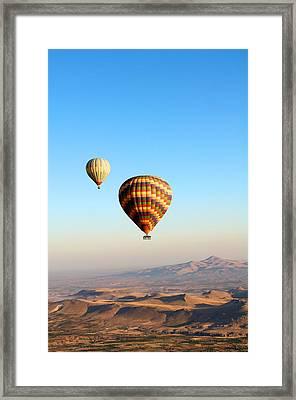 Balloon Framed Print by Ernesto Cinquepalmi