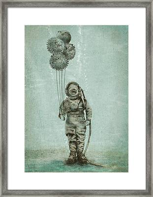Balloon Fish Framed Print by Eric Fan