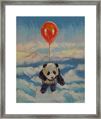 Balloon Ride Framed Print by Michael Creese