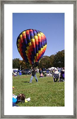Balloon Rides Framed Print by Lee Hartsell