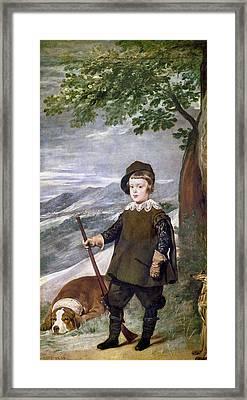 Baltasar Carlos (1629-1646) Framed Print by Granger