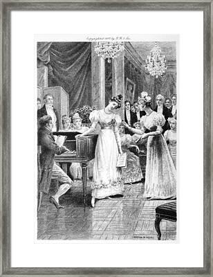 Balzac: A Woman Of Thirty Framed Print by Granger
