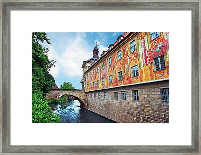 Bamberg, Germany , The Town Hall (altes Framed Print by Miva Stock