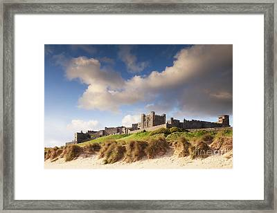 Bamburgh Castle Northumberland England Framed Print by Colin and Linda McKie