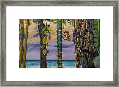 Banana Country Framed Print by Vrindavan Das