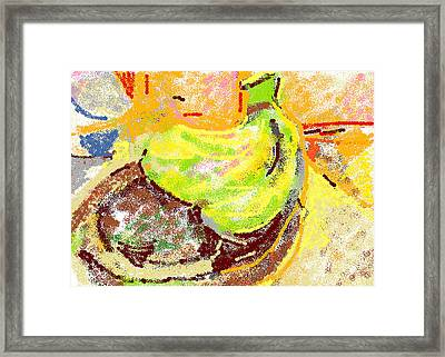 Bananas From Paphos 2 Framed Print by Anita Dale Livaditis