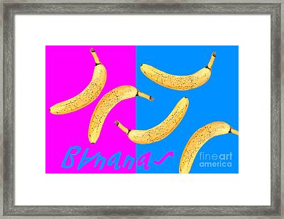 Bananas Framed Print by Natalie Kinnear