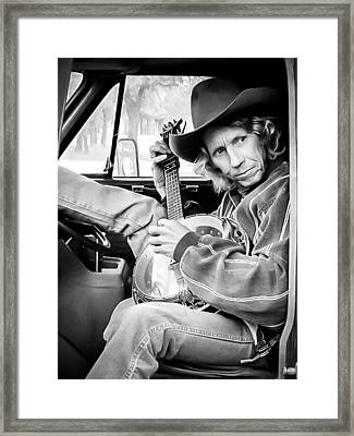 Banjo Man Framed Print by Darryl Dalton