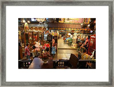 Banmai Resort And Restaurant - Pak Chong Thailand - 011317 Framed Print by DC Photographer