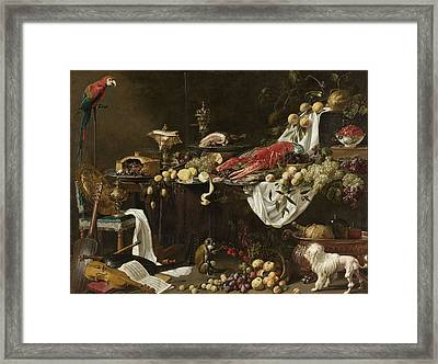 Banquet Still Life Framed Print by Celestial Images