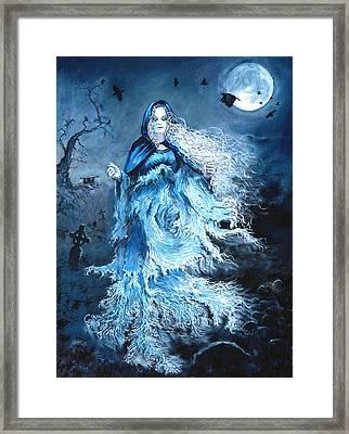 Banshee Framed Print by Tomas OMaoldomhnaigh