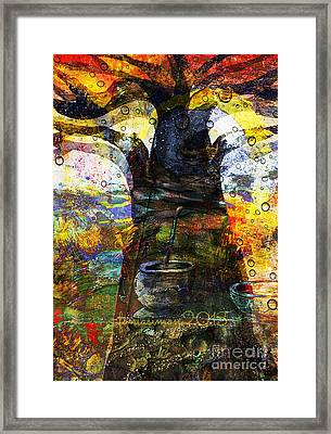 Baobab Tree  Framed Print by Fania Simon