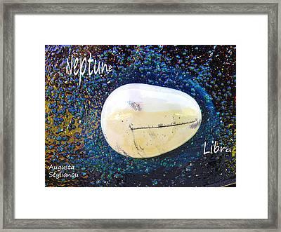 Barack Obama Neptume Framed Print by Augusta Stylianou