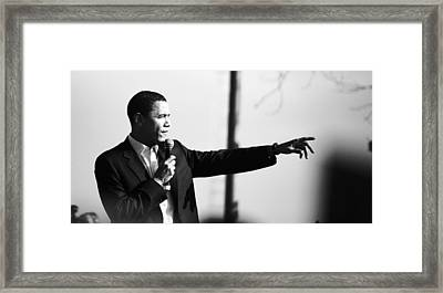 Barakobama2007 Framed Print by Dexter Browne