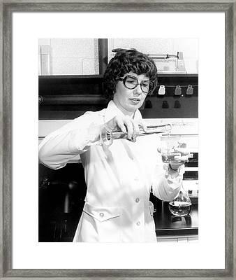 Barbara Askins Framed Print by Nasa