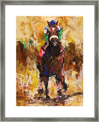 Barbaro Framed Print by Ron and Metro