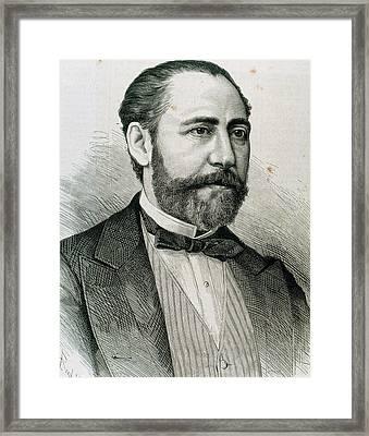 Barbieri, Francisco Asenjo (1823-1894 Framed Print by Prisma Archivo