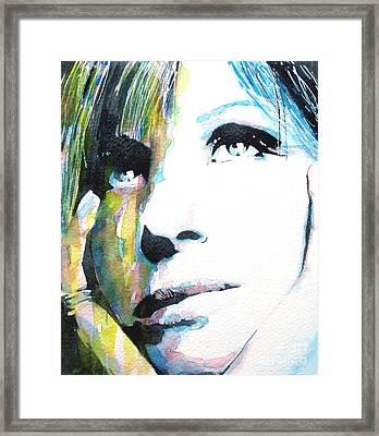 Barbra Framed Print by Paul Lovering