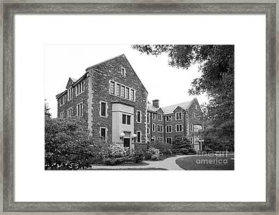 Bard College Warden's Hall Framed Print by University Icons