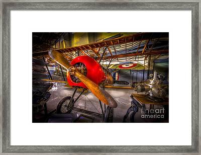 Bare Bones Framed Print by Marvin Spates