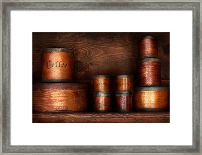 Barista - Coffee - Coffee And Spice Framed Print by Mike Savad