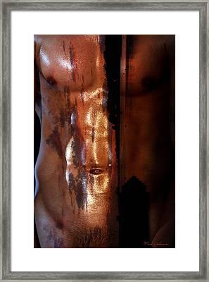 Barmuda Metallic  2 Framed Print by Mark Ashkenazi