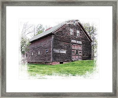 Barn 4 Framed Print by Marcia Lee Jones