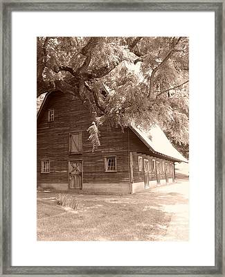 Barn Framed Print by Andrew Johnson