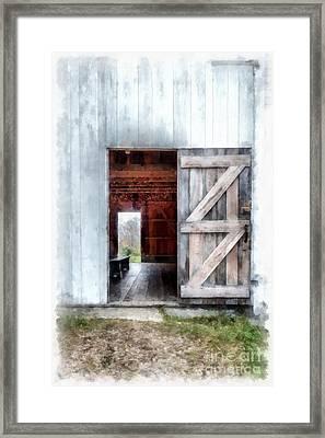 Barn Dance Framed Print by Edward Fielding