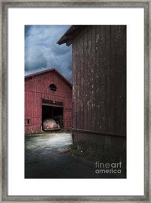 Barn Find Framed Print by Edward Fielding