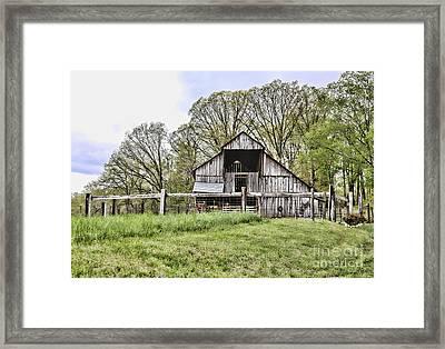 Barn II Framed Print by Chuck Kuhn
