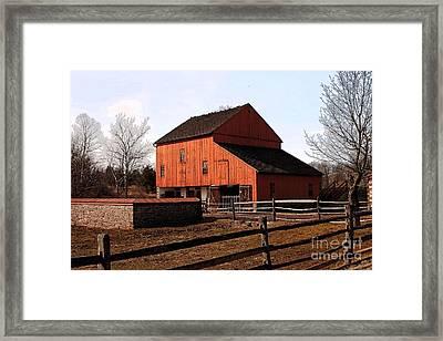 Barn 2 Framed Print by Marcia Lee Jones