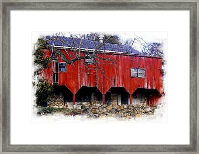 Barn 3 Framed Print by Marcia Lee Jones