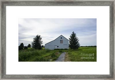 Barn Framed Print by Linda C Johnson