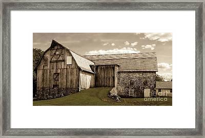Barn Series 1 Framed Print by Marcia Lee Jones